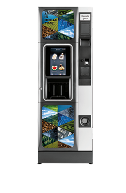 Koffie vendingmachine Necto Concerto Touch