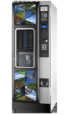 Koffie vendingmachine Necta Concerto
