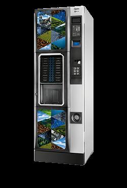 Koffie vendingmachine Necta Opera